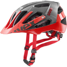 UVEX Quatro Casque, grey/red